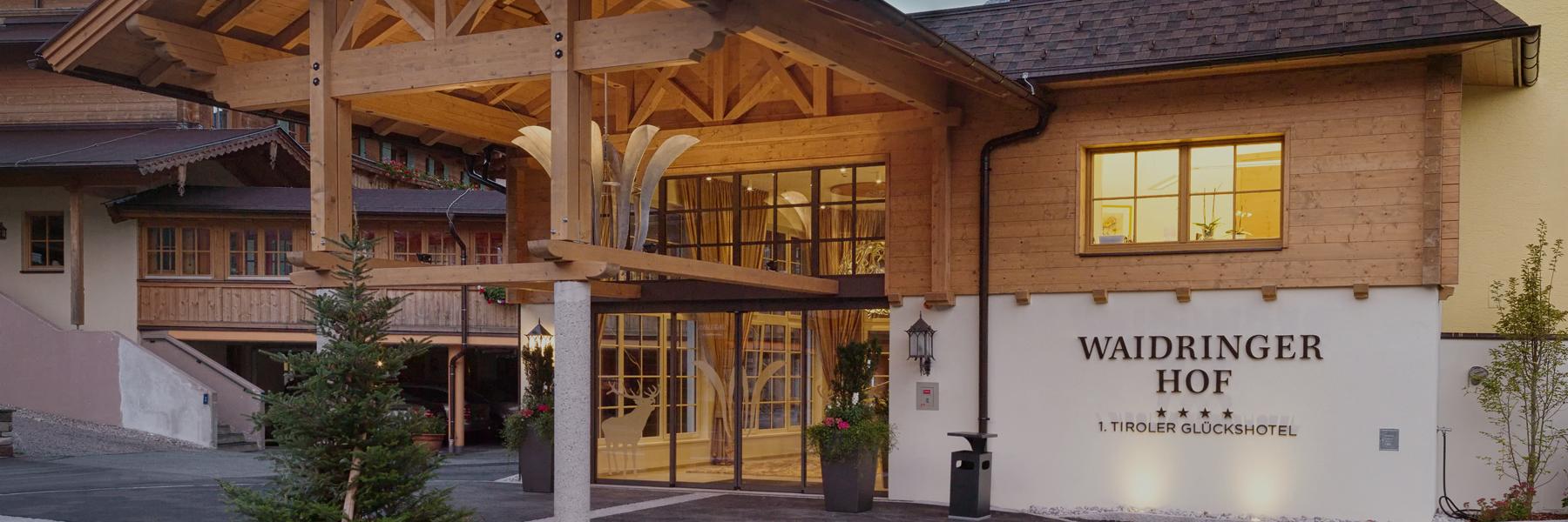 4-Sterne-Superior Hotel in den Kitzbüheler Alpen: Der Waidringer Hof
