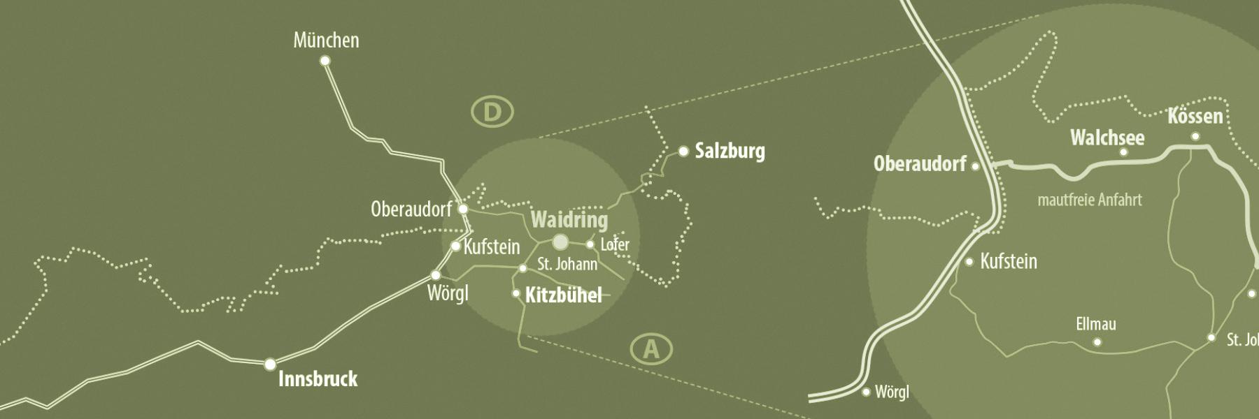 Anreise Waidringer Hof